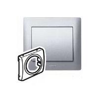 Legrand Galea Life Алюминий Лицевая панель для выключателей круглых / кнопочных / со шнурком купить в интернет-магазине Азбука Сантехники