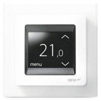 Терморегулятор Devi Touch polar white белый купить в интернет-магазине Азбука Сантехники