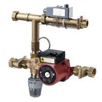 TIM-JH-1037 насосно смесительный узел для систем напольного отопления купить в интернет-магазине Азбука Сантехники