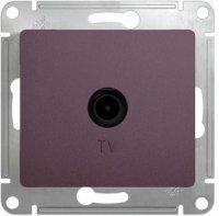 Schneider Electric Glossa Сиреневый туман Розетка TV оконечная 1DB механизм купить в интернет-магазине Азбука Сантехники