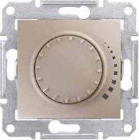 Schneider Electric Sedna Титан Светорегулятор поворотный индуктивный 60-325 Вт купить в интернет-магазине Азбука Сантехники