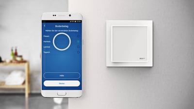 Терморегулятор Devi Devireg Smart Wi-Fi polar white купить в интернет-магазине Азбука Сантехники