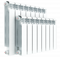 Rifar Alum 350 алюминиевый радиатор отопления, 6 секций купить в интернет-магазине Азбука Сантехники