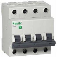 Schneider Electric Easy 9 Автомат 4P 32A (B) 4,5kA купить в интернет-магазине Азбука Сантехники