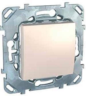 Schneider Electric Unica Бежевый Переключатель 1-клавишный (схема 6) купить в интернет-магазине Азбука Сантехники