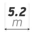 Ширина 5,2 м купить в интернет-магазине Азбука Сантехники