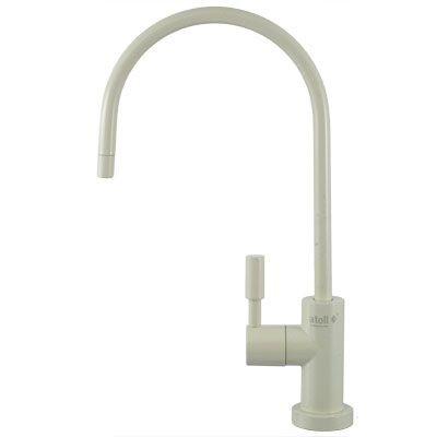Кран для питьевой воды ATOLL A-888-WE LED (белый) купить в интернет-магазине Азбука Сантехники