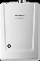 Котел газовый настенный двухконтурный NAVIEN DELUXE 16K, закрытая камера, раздельное дымоудаление купить в интернет-магазине Азбука Сантехники