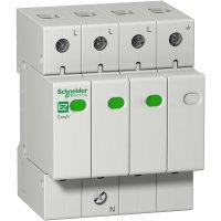 Schneider Electric Easy9 Ограничитель перенапряжений 3P+N 45kA TT & TN-S купить в интернет-магазине Азбука Сантехники