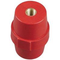 IEK SM51 Изолятор шинный силовой M8 D=36мм красный купить в интернет-магазине Азбука Сантехники