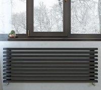 Дизайн-радиатор Loten Грей Z 580 × 1500 × 60 купить в интернет-магазине Азбука Сантехники