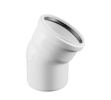 Отвод Rehau Raupiano Plus Ø 50 мм × 30° купить в интернет-магазине Азбука Сантехники