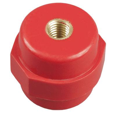 IEK SM25 Изолятор шинный силовой M6 D=30мм красный купить в интернет-магазине Азбука Сантехники