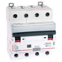 Legrand DX3 Дифавтомат 4P 32A (C) 6kA тип AС 30mA купить в интернет-магазине Азбука Сантехники