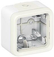 Legrand Plexo Arctic Белый Коробка для накладного монтажа 1 пост IP55 купить в интернет-магазине Азбука Сантехники