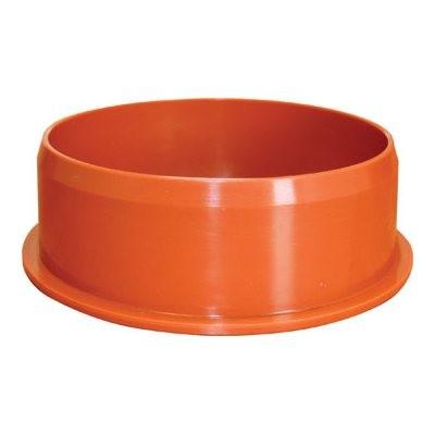 Заглушка ПВХ Ø 200 мм для наружной канализации