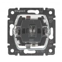 Legrand Galea Life Механизм Выключатель кнопочный без фиксации с подсветкой НО-контакт 10A купить в интернет-магазине Азбука Сантехники