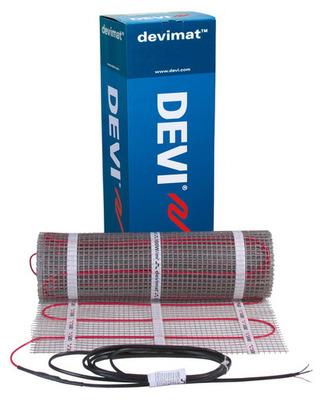 Теплый пол электрический Devi Devimat DTIF-150 — 0,5 × 2 м с гофротрубкой (1 м²)