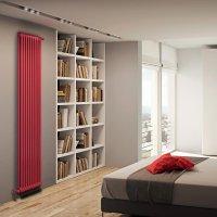 Радиатор стальной трубчатый IRSAP TESI 21800/10 CL.05 (красный) T30, 10 секций, боковое подключение купить в интернет-магазине Азбука Сантехники