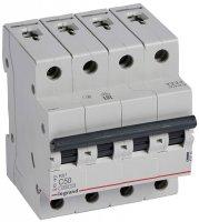 Legrand RX3 Автомат 4P 50A (C) 4,5kA купить в интернет-магазине Азбука Сантехники
