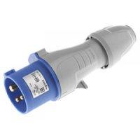 Legrand P17 Tempra Pro Вилка прямая 2P+PE 16A 200-250V IP44 купить в интернет-магазине Азбука Сантехники