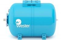 Расширительный бак Wester WAO 80 л для водоснабжения горизонтальный