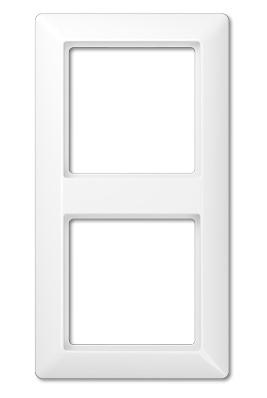 Jung AS 500 Белый Рамка ударопрочная 2-ая купить в интернет-магазине Азбука Сантехники