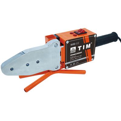 Паяльник для труб ППР TIM WM-02, 20–63 мм, 1800 Вт купить в интернет-магазине Азбука Сантехники