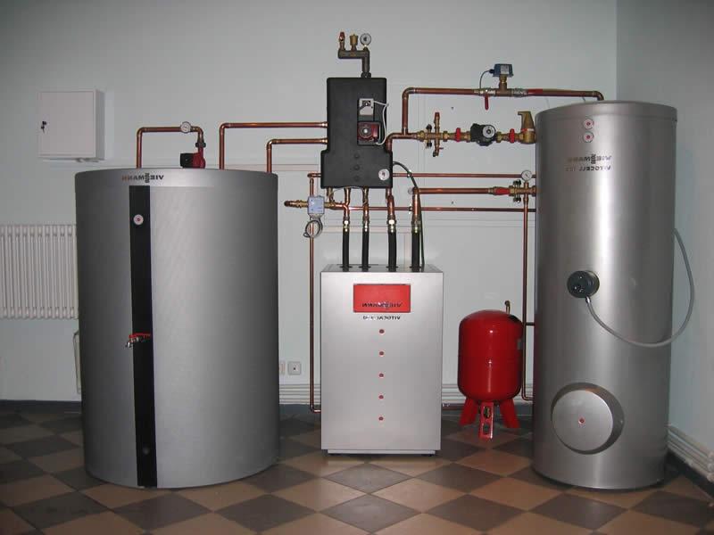 Отопление и водоснабжение в доме «под ключ»