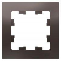 Schneider Electric AtlasDesign Мокко Рамка 1-постовая купить в интернет-магазине Азбука Сантехники