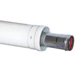 Удлинение коаксиальное BAXI Ø 60/100 мм, длина 1000 мм купить в интернет-магазине Азбука Сантехники