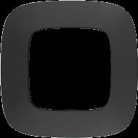 Legrand Valena Allure Матовый черный Рамка 1 пост купить в интернет-магазине Азбука Сантехники