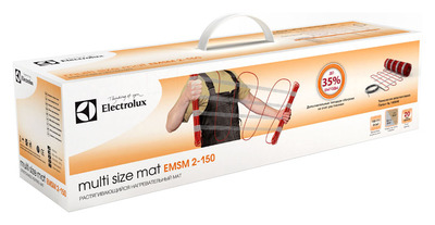 Теплый пол электрический Electrolux EMSM 2-150-3, растягивающийся купить в интернет-магазине Азбука Сантехники