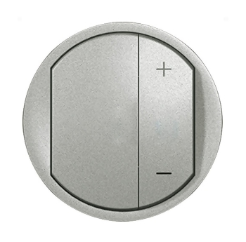 Legrand Celiane Титан Накладка светорегулятора нажимного купить в интернет-магазине Азбука Сантехники