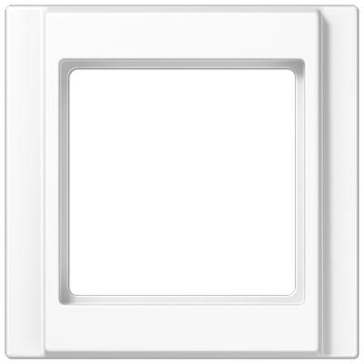 Jung A 500 Белый Рамка 1-ая купить в интернет-магазине Азбука Сантехники