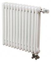 Трубчатый радиатор 3-трубный Arbonia 3057 10 секций N69 твв, белый RAL 9016 (нижнее подключение) купить в интернет-магазине Азбука Сантехники