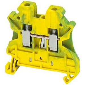 Schneider Electric Linergy TR Колодка клеммная проходная винтовая 1P - 1x1 2.5мм / желто-зеленый купить в интернет-магазине Азбука Сантехники