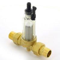 """Фильтр промывной BWT Ø 1"""" для холодной воды, со сменным элементом Protector mini купить в интернет-магазине Азбука Сантехники"""
