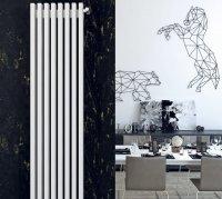 Дизайн-радиатор Loten Грей V 2000 × 380 × 60 купить в интернет-магазине Азбука Сантехники