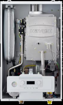 Котел газовый настенный двухконтурный NAVIEN SMART TOK 13K COAXIAL, закрытая камера, коаксиальное дымоудаление купить в интернет-магазине Азбука Сантехники