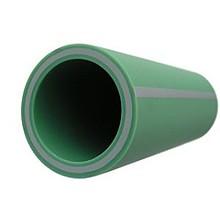 Труба Baenninger WATERTEC Ø 40 мм PN 20 полипропиленовая, армированная стекловолокном (4 м) купить в интернет-магазине Азбука Сантехники