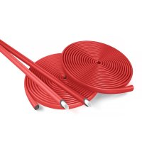 Трубка теплоизоляционная Energoflex Super Protect ROLS ISOMARKET 18/4 — красная, в бухтах 11 метров