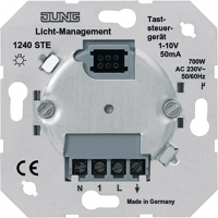 Jung Механизм Светорегулятор нажимной для л/н ЭПРА 1-10V купить в интернет-магазине Азбука Сантехники