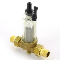 """Фильтр промывной BWT Ø 3/4"""" для холодной воды, со сменным элементом Protector mini купить в интернет-магазине Азбука Сантехники"""