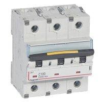 Legrand DX3 Автомат 3P 100A (C) 10/16kA купить в интернет-магазине Азбука Сантехники