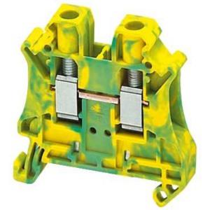 Schneider Electric Клеммник винтовой с заземлением сечением провода 6мм2 2 точки подключения купить в интернет-магазине Азбука Сантехники