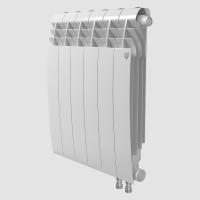 Радиатор биметаллический RoyalThermo Biliner 500 VD с нижним подключением, Bianco Traffico белый, 12 секций купить в интернет-магазине Азбука Сантехники
