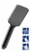 Лейка душевая Lemark LM8123GM, 3-функциональная, 80 × 260 мм купить в интернет-магазине Азбука Сантехники