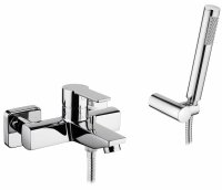 Смеситель для ванны Sanindusa Master 40, 3 в 1, с ручным душем и шлангом (525080111) купить в интернет-магазине Азбука Сантехники