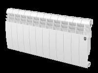 Радиатор биметаллический RoyalThermo Biliner 350 VD с нижним подключением, Bianco Traffico белый, 12 секций купить в интернет-магазине Азбука Сантехники